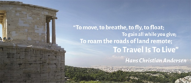 To travel is to live 2